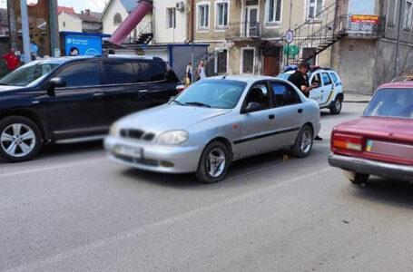 """Аварія у Бережанах – водій """"Ланоса"""" на переході збив пішохода"""