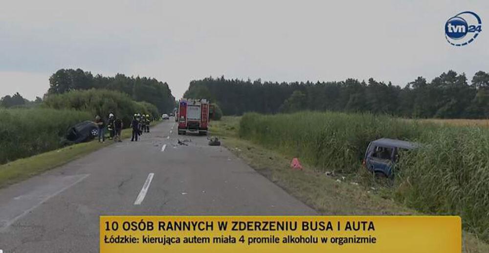 Одна людина загинула і 9 травмованих: у Польщі п'яна водійка в'їхала в мікроавтобус з українцями
