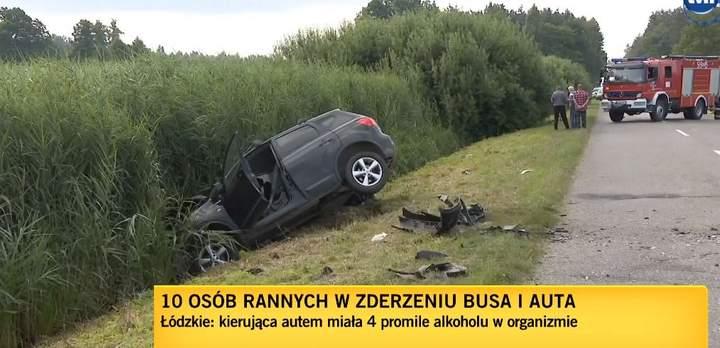 українці, аварія у Польщі