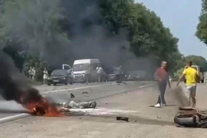 ДТП на трасі Львів-Тернопіль