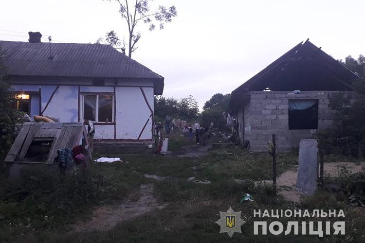Романівка, Нова Могильниця, пожежа