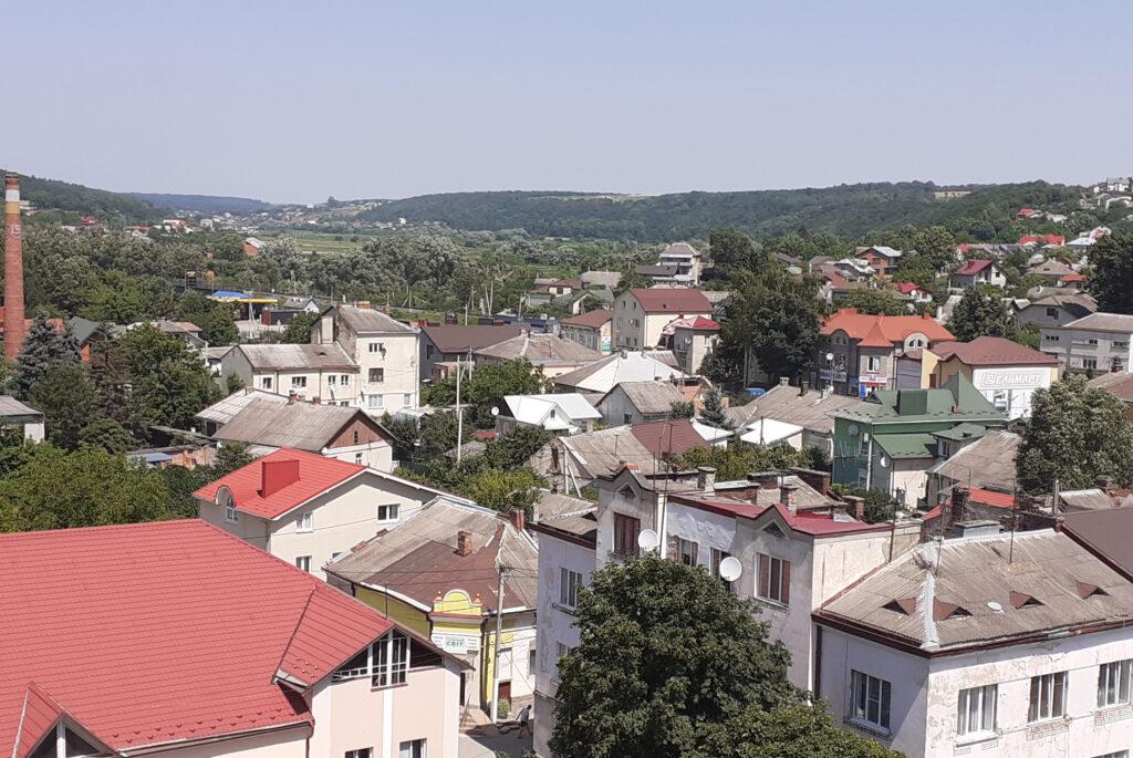 Теребовля, панорама міста