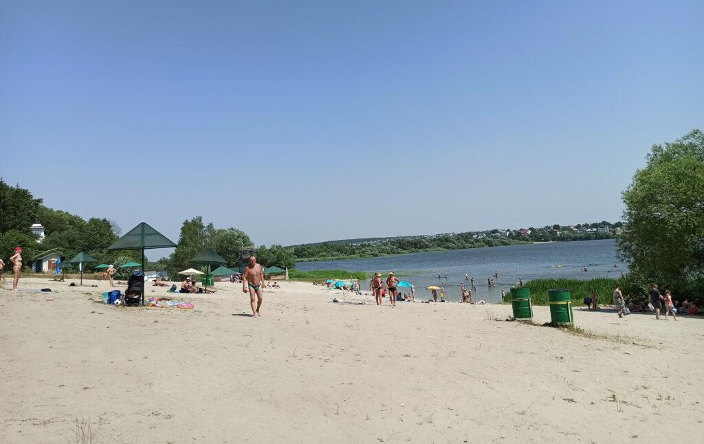 пляжі Тернополя