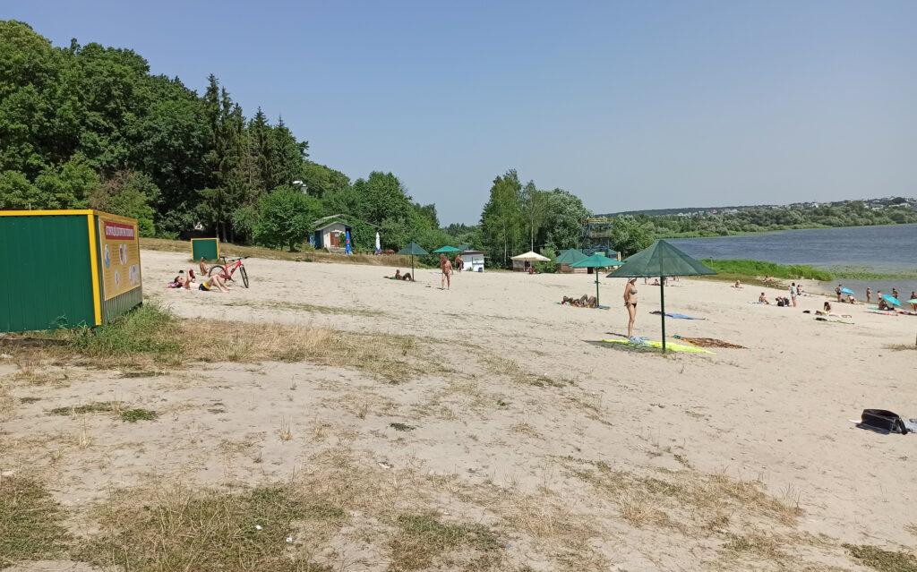 тернопільський пляж