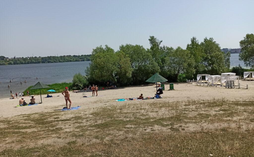 фото Тернополя, Дальній пляж