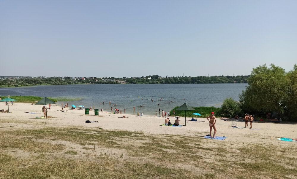 Тернопіль, Дальній пляж
