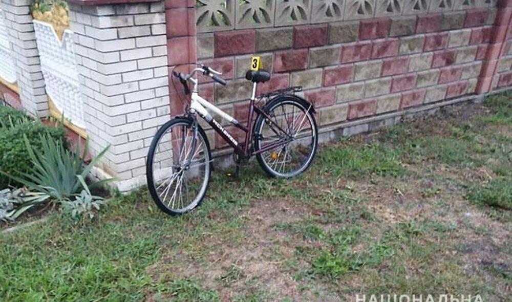 ДТП велосипед, Гусятин