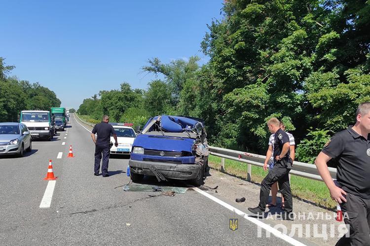 аварія на трасі Львів - Тернопіль