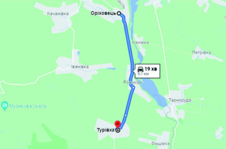 Оголошено тендер на ремонт дороги Оріховець – Турівка