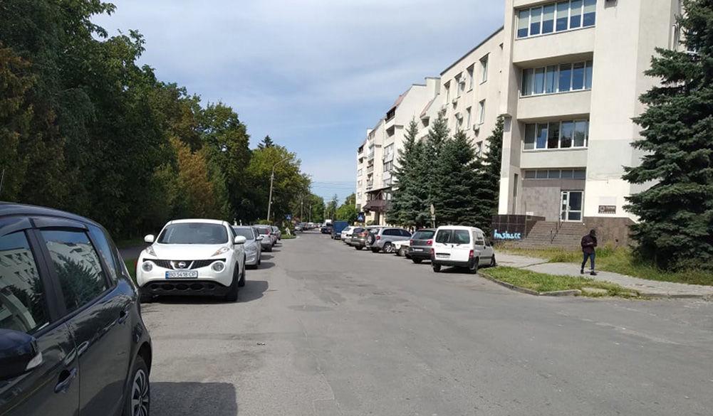 Тернопіль, вулиця Білецька