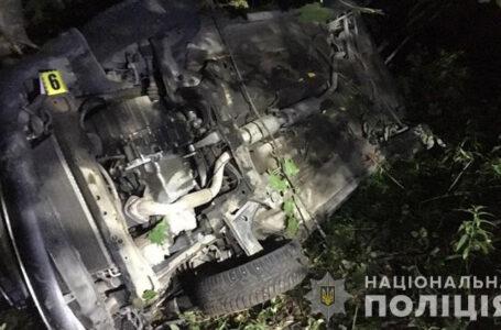На Шумщині перекинувся легковий автомобіль – двоє людей травмовано