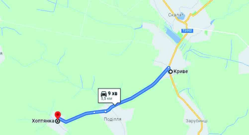 Оголошено тендер на ремонт дороги Криве – Хоптянка