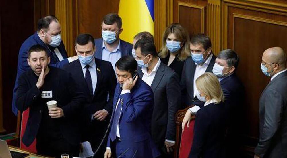 народні депутати - Арахамія, Разумков та інші