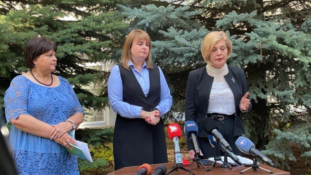 Ольга Хома і Ольга Ярмоленко