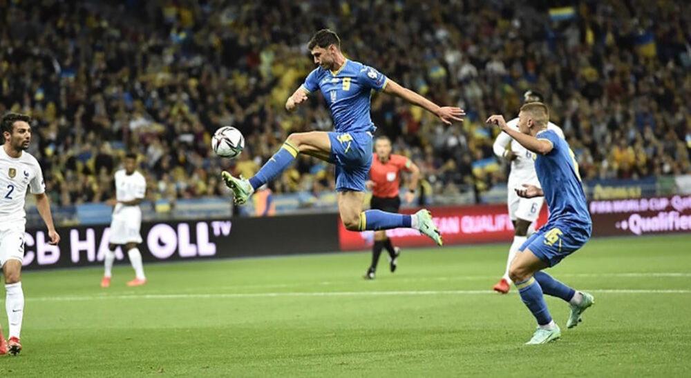 Збірна України зіграла в нічию проти Франції у відборі на ЧС-2022