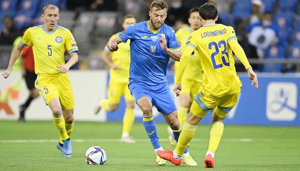 Збірна України знову не змогла перемогти Казахстан у відборі на ЧС-2022