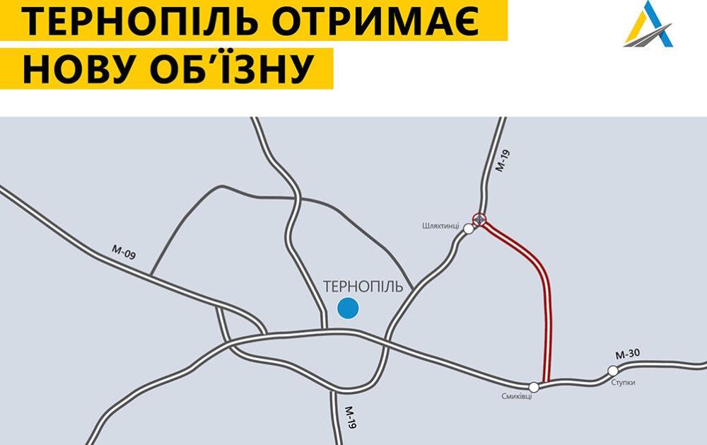 Від Смиківців до Шляхтинців: Тернопіль отримає нову об'їзну дорогу