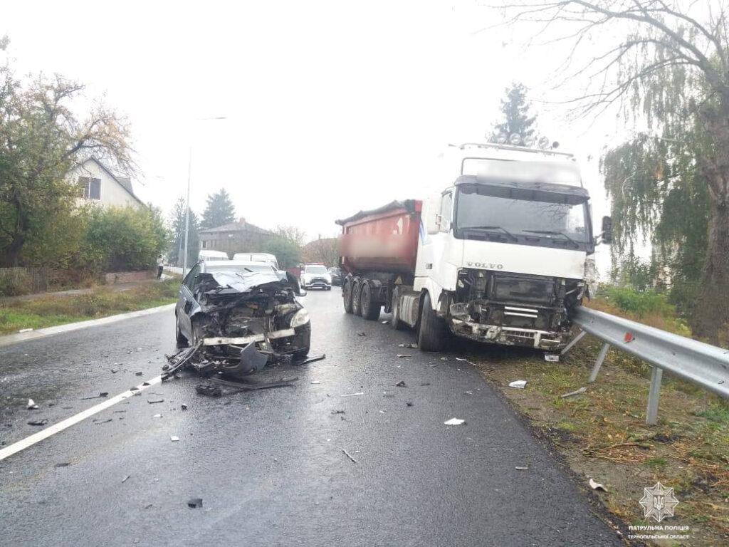 аварія у Ягільниці