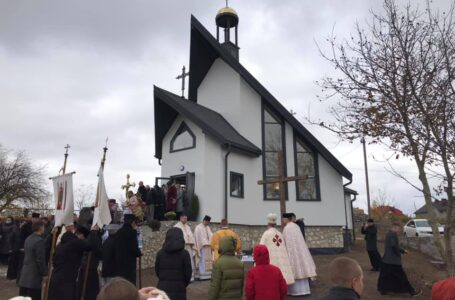 У Великій Березовиці освятили новозбудований храм (ФОТО)