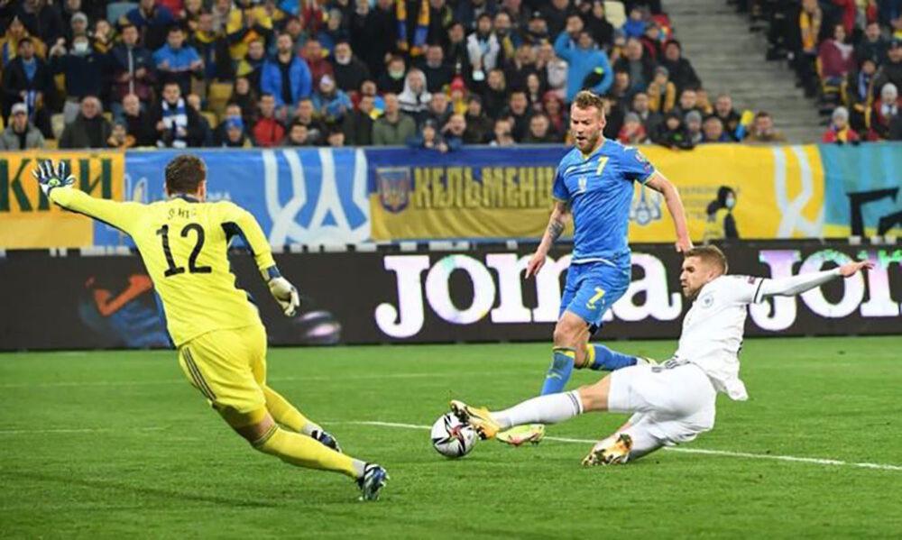 Збірна України не змогла обіграти Боснію у відборі на ЧС-2022